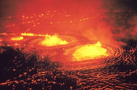 Above: A photo of a different, far-more-interesting volcano that actually has the lava and the explosions and what not.